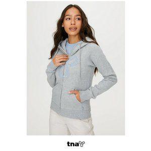 Aritzia | TNA Pacific Hoodie grey-lavender NWOT